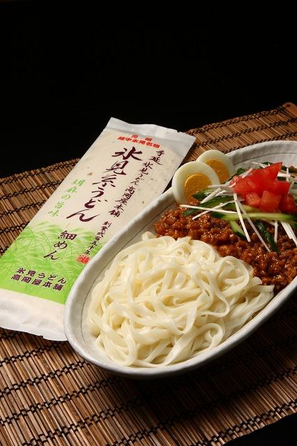 手延 氷見糸うどん 「胡麻の旨味」 細めん 調理例: ジャジャ麺